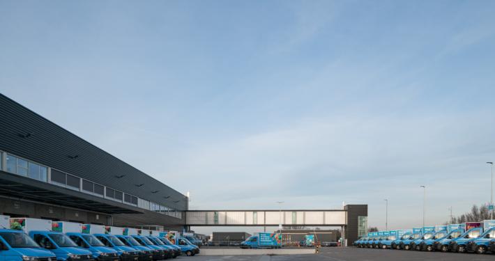 ©egbertdeboer.com | Dak- en gevelbeplating bij Ahold te Bleiswijk - Hardeman | van Harten